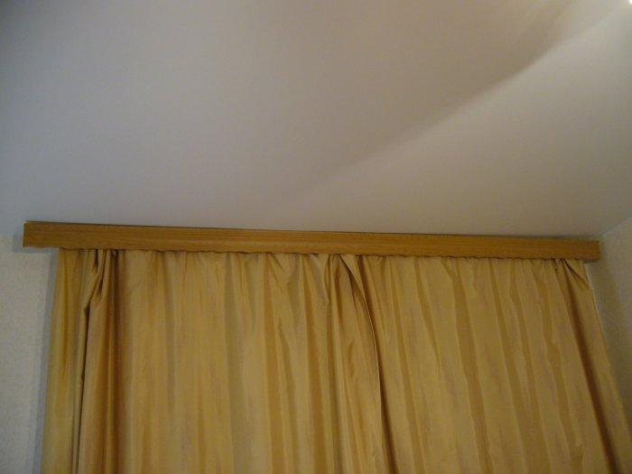 Гардины и натяжные потолки